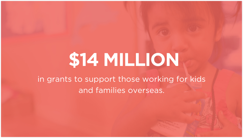 International Grants slide one
