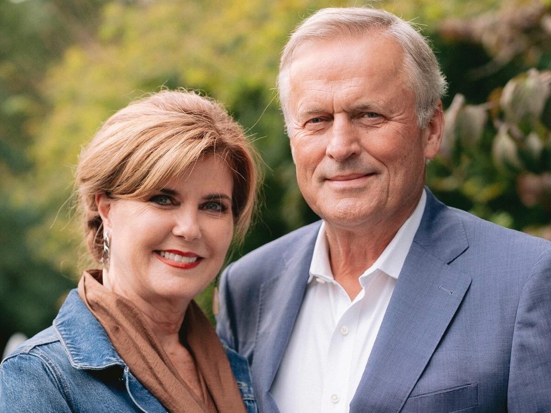 Renee and John Grisham