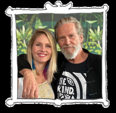 Jeff Bridges and Isabelle Bridges-Boesch